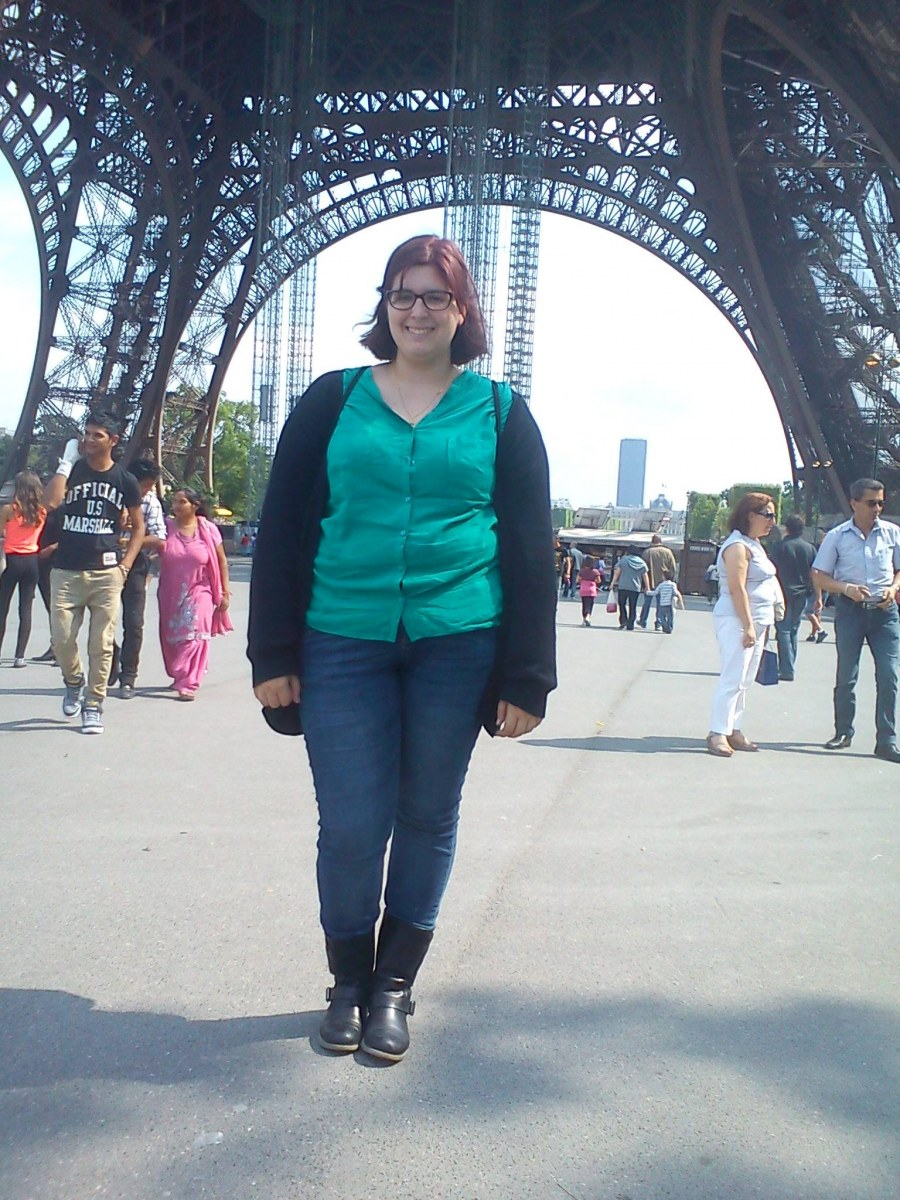 Au Pair Lidia en Paris