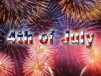 la celebración del 4 de Julio